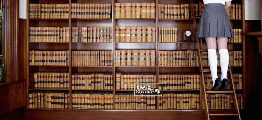 ps创意合成图书馆偷拍场景照片