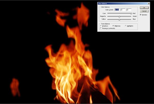 分类导航 计算机/互联网 平面设计 photoshop > ps合成火焰骷髅头像