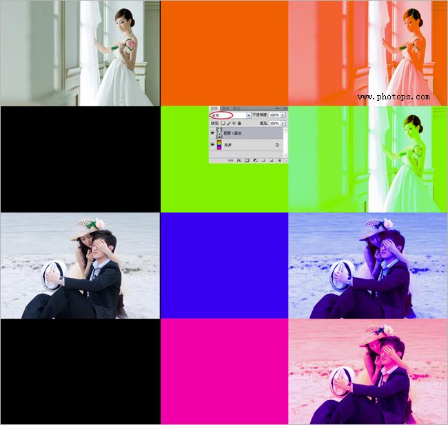 PS简单美化照片的几种方法