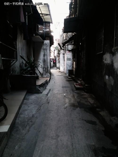 小巷立体简笔画