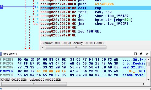 ID包含了我的MAC地址,Host 头部包含了我的desktop名.   我