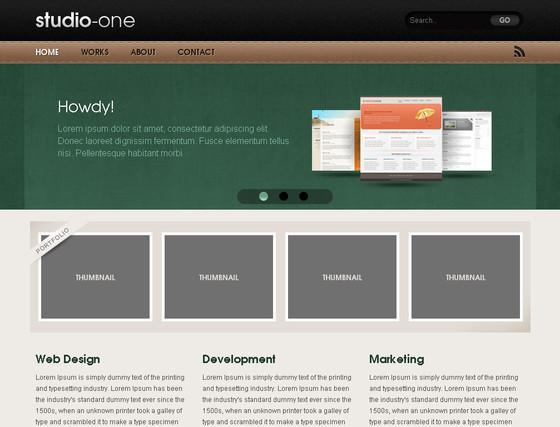 分享12款非常漂亮的免费国外网站模板_网页设计图片