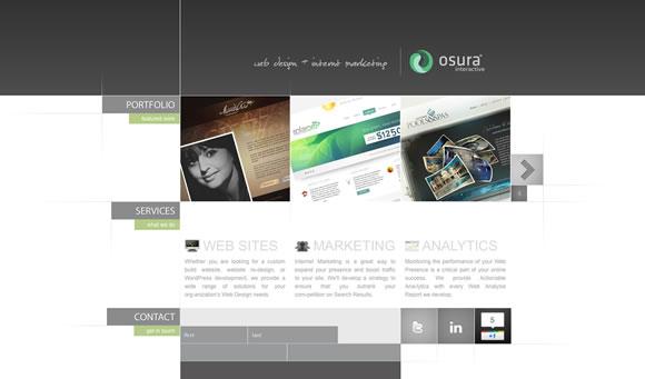 带给你灵感的20个漂亮的单页网站设计作品_网页设计