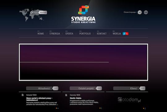 35个漂亮的紫色风格网页设计作品欣赏_网页设计图片