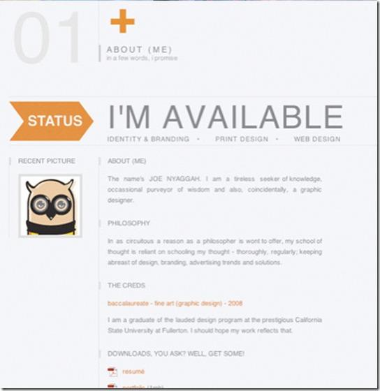 个人网站都会有自我介绍页面,用于介绍作者的个人信息,如联系方式,职业等等。今天这篇文章收集了25个优秀的About Me页面设计,希望能带给你灵感。Unfold Janis The Guide to the App Galaxy by Google Disc