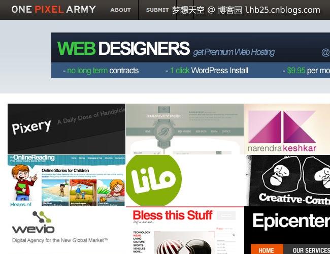 200佳优秀的国外创意设计网站推荐【全集】_网页设计