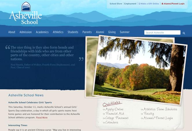 30个优秀的大自然风格网页设计作品欣赏 网页设计