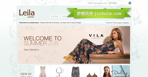 分享32个优秀的国外电子商务网站设计案例_网页设计