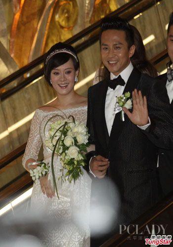 邓超和孙俪的结婚照片