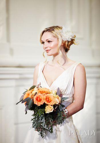 奢华复古中式婚礼新娘发型