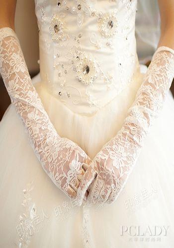 欧式复古礼服手套
