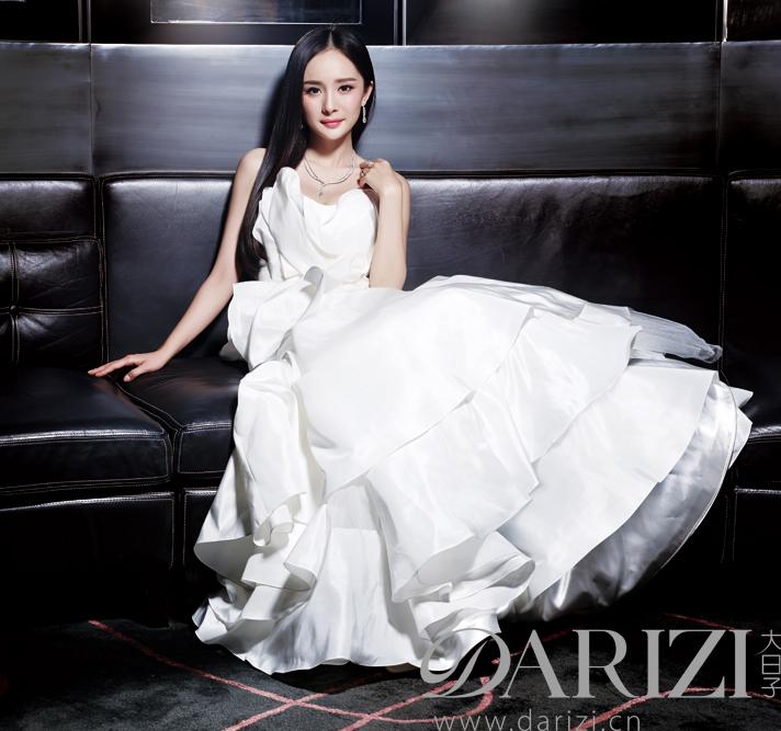 杨幂的结婚照片图片