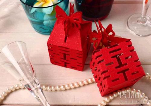 创意喜糖盒包装 点亮浓情蜜意