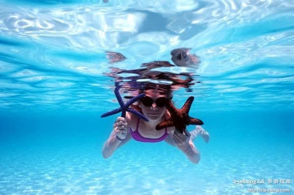 长滩岛潜水(图片来源:菲律宾旅游局)长滩岛的
