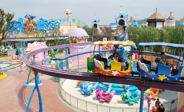 嬉戏谷摩尔庄园大冒险 色彩斑斓的小世界