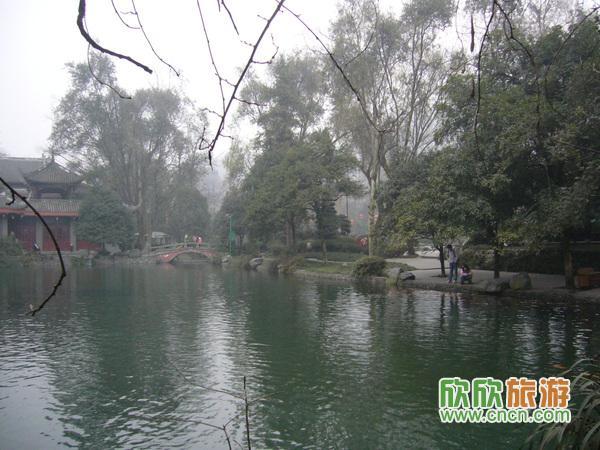 山水都江堰-离堆公园游