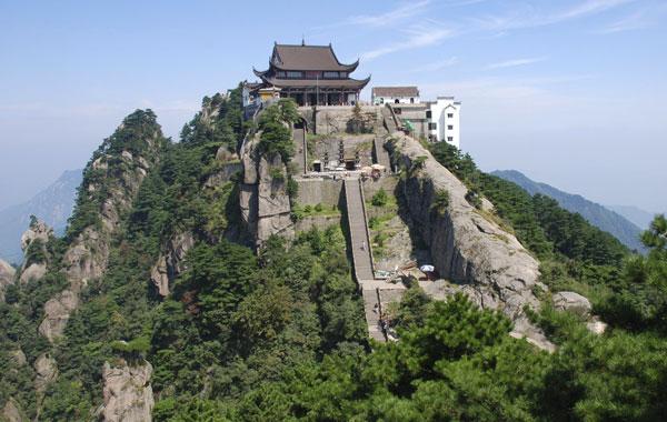 凌海九华山风景区-九华山美景欣赏图片