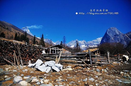 藏族人的村落-走进东方阿尔卑斯 探索四姑娘山的美丽传说 四姑娘旅游