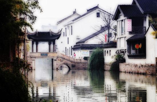WWW_MIMISE123_COM_新浪旅游配图:木渎古镇 摄影:mimise