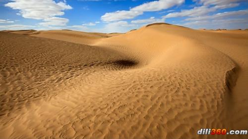 国新疆的塔里木盆地中