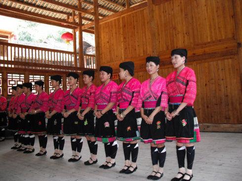 多声部的女声合唱 瑶族民歌