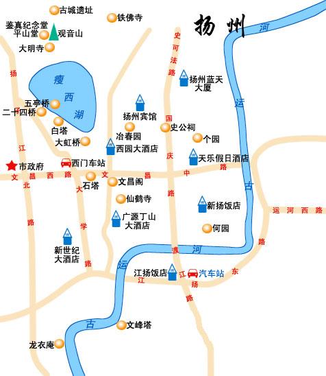 扬州主要看点:唐代二十四桥的旖旎