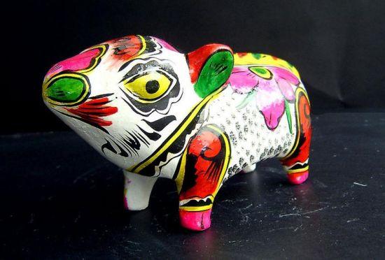 陶泥塑图片 小动物