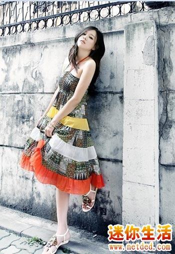 水桶腰型的身材适合穿什么样的连衣裙
