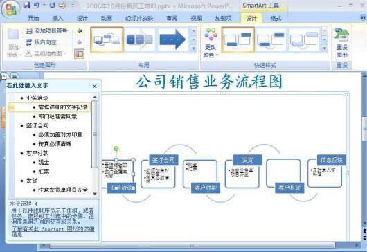 powerpoint 2007 让业务流程图更具动感_powerpoint图片