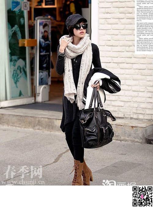 时尚都市街头最潮的休闲服饰搭配