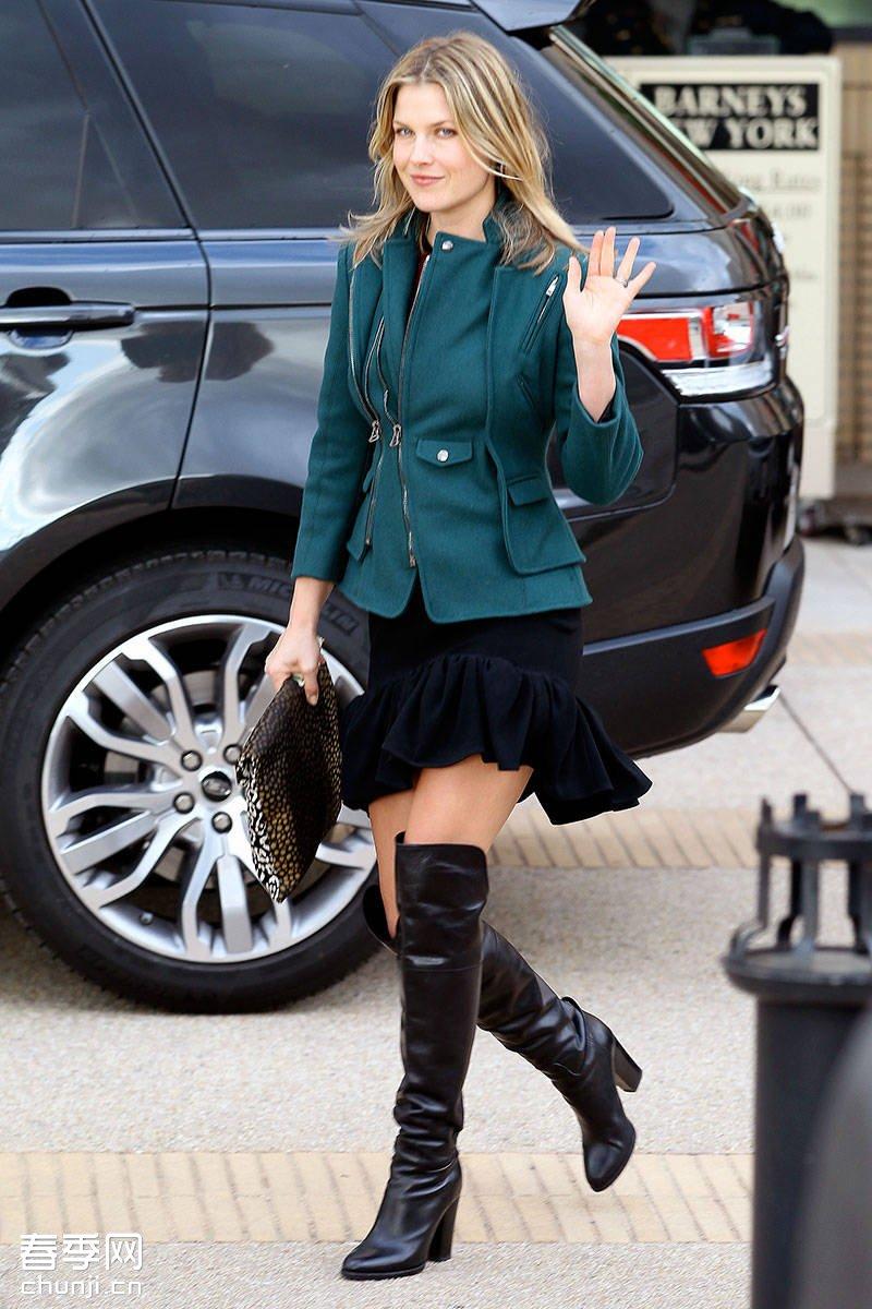 欧美女星潮流时尚街拍造型