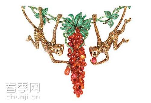 """瑞士高级珠宝品牌萧邦""""动物世界""""系列高级珠宝"""