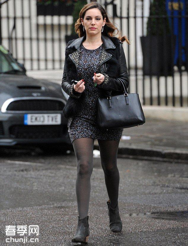 英国超模凯莉布鲁克 伦敦街拍