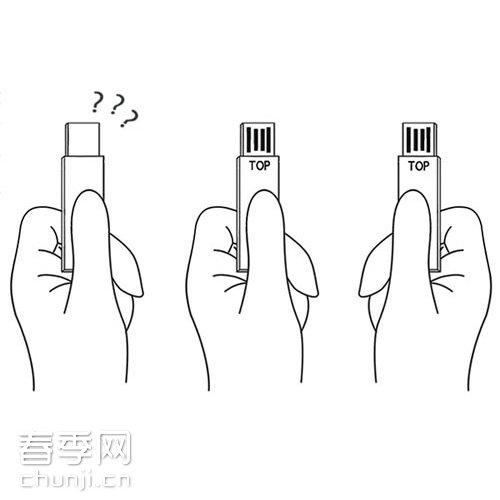 xing xing deng和shurun shen设计的双面优盘2-top__春季网