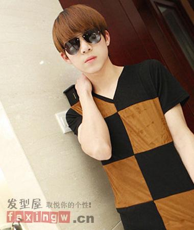 今夏超酷韩流男士短发发型趋势 帅气逼人 高清图片