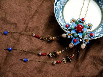 古代女子的发饰,簪子