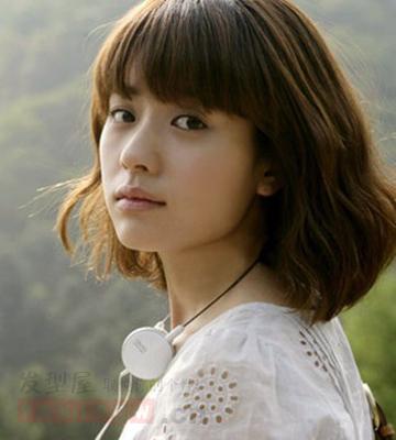 2014流行女生短发发型 清新百搭显气质图片