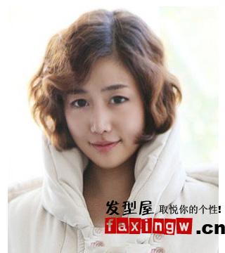 6款时尚感的韩国短发发型图片