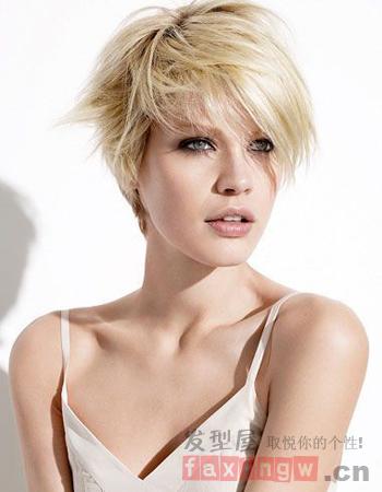 欧美流行短发发型图片 轻松打造潮流范儿