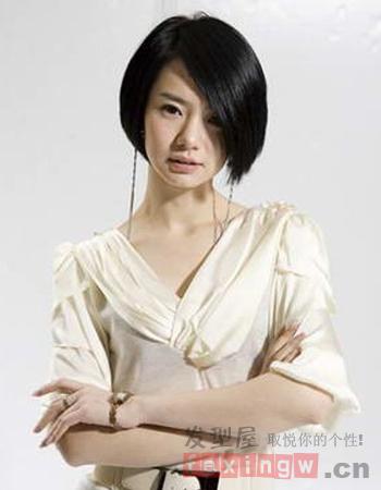 帅气女生短发发型图片 中性风格更迷人图片