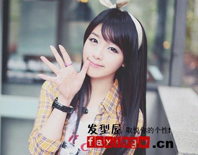 2012冬季流行刘海发型图片盘点图片