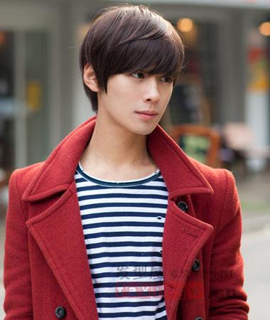 韩国男生烫发发型图片 帅气染烫星味十足图片