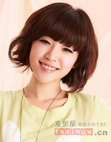 超甜韩国女生短发发型 萌萝莉秋日减龄必备