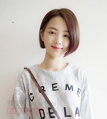 流行女生短发发型 彰显青春气质