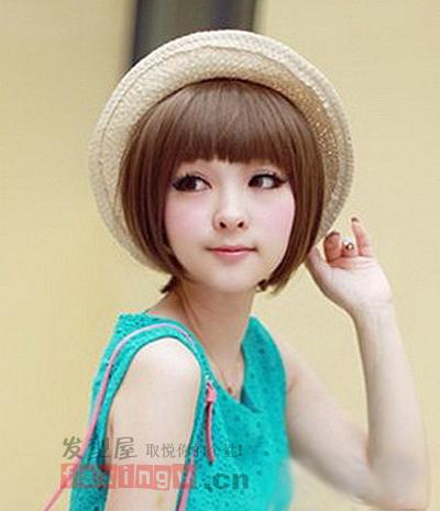 2013年女生短发发型图片 时下最流行的发型 高清图片