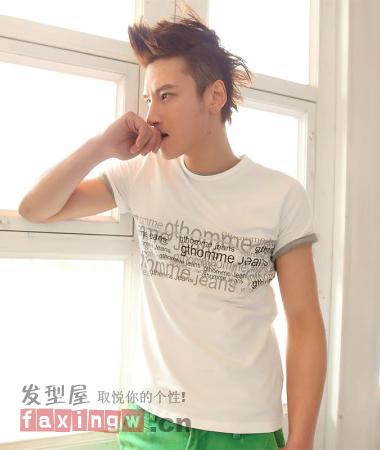 2013年男生最流行的短发发型 时尚帅气男生发型