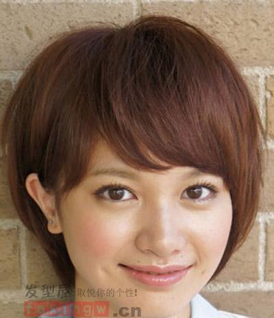 最新女生短发发型图片 演绎优雅魅力气质图片
