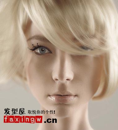 2013夏季流行女生短发发型 欧美风格短发气场强大