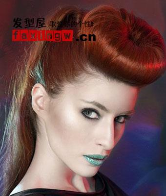 2013发型流行趋势预测 从时尚大片看欧美最新潮流发型