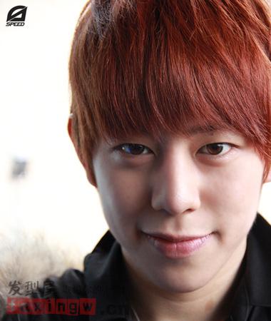 韩国流行男士纹理烫短发 潮男范儿更显俊朗图片